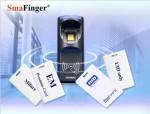 Stacjonarny czytnik linii papilarnych i RFID HF Mifare MAD1/MAD2 - SF650