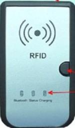 NFC-6312 - Ręczny czytnik RFID HF