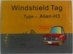 Windshield - tag na szybę pojazdu